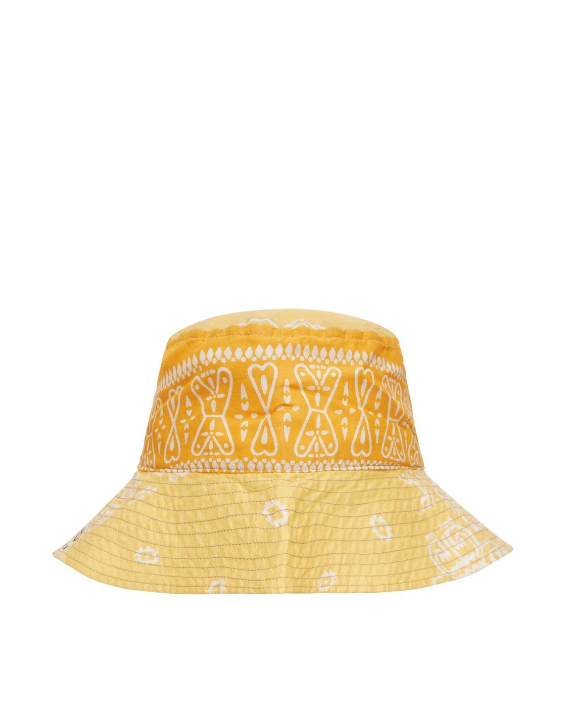 Photo: Kapital Bandana Patchwork Bucket Hat Yellow
