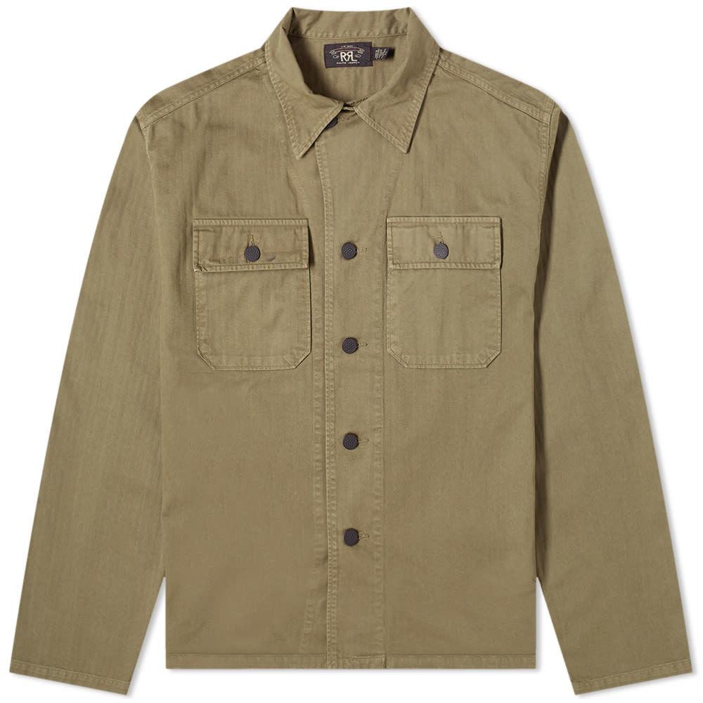RRL Curtis Military Shirt
