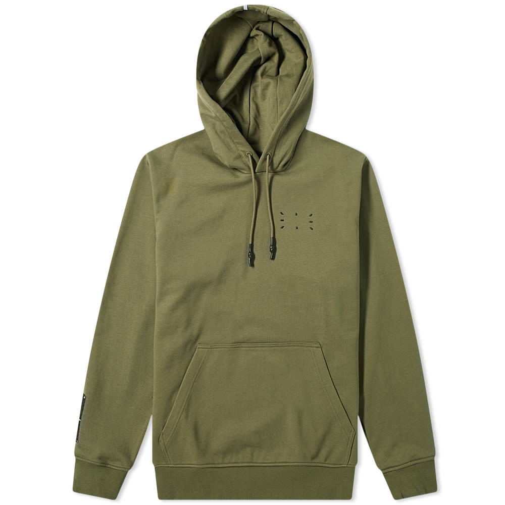 McQ Relaxed Fit Pop Over Hoody