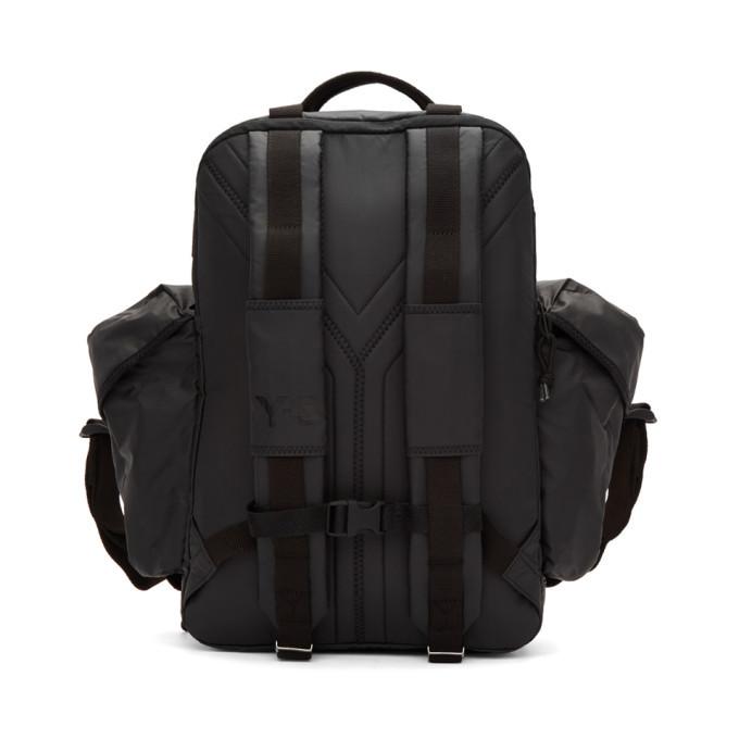 Y-3 Black XS Utility Backpack