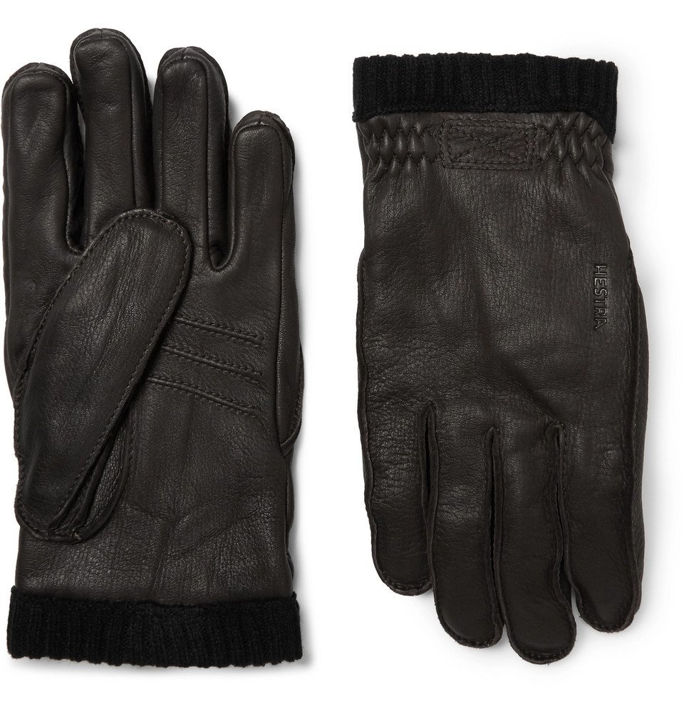 Photo: Hestra - Fleece-Lined Full-Grain Leather Gloves - Men - Brown