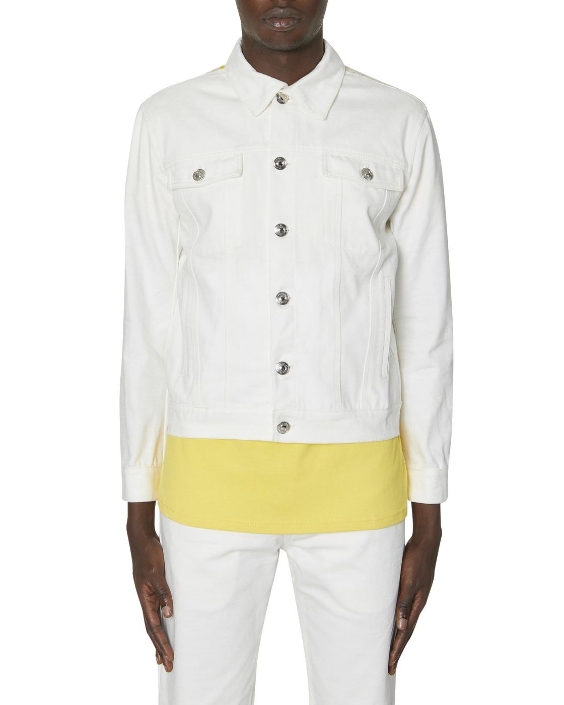 Photo: Adish Sabalah Denim Jacket Off White