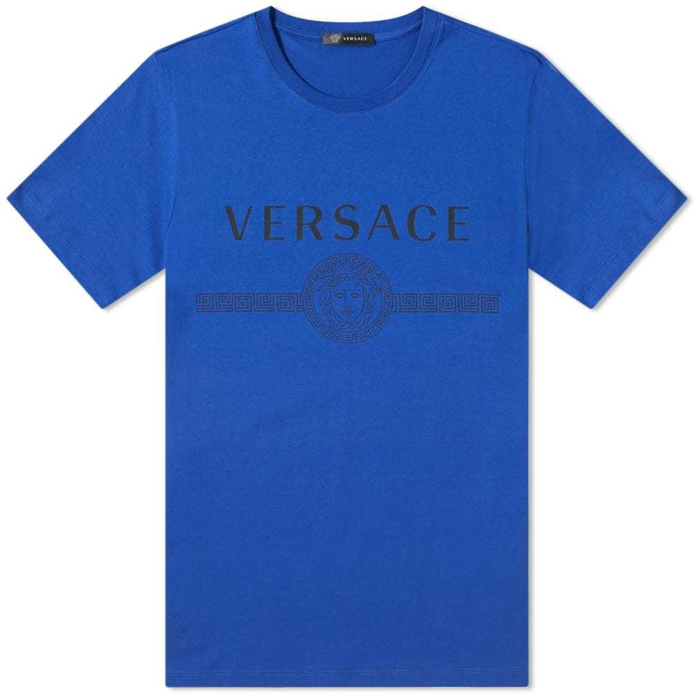Photo: Versace Classic Logo Tee Bluette