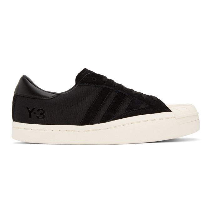 Photo: Y-3 Black Suede Yohji Star Sneakers