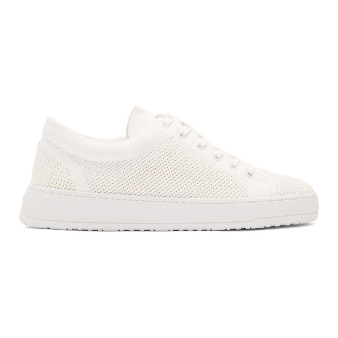 Photo: ETQ Amsterdam White LT 01 Knitted Sneakers