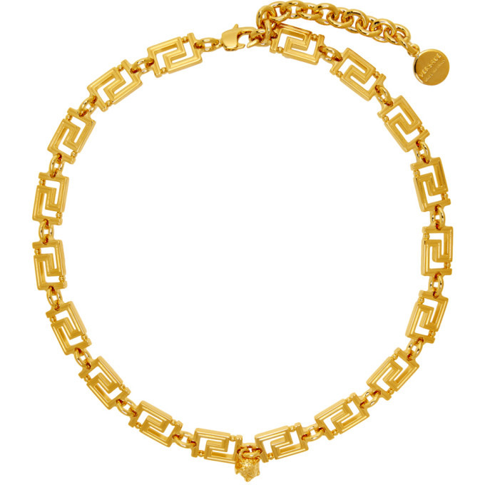 Photo: Versace Gold Empire Chain Necklace