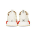 adidas Originals White NMD-R1 Boost Sneakers