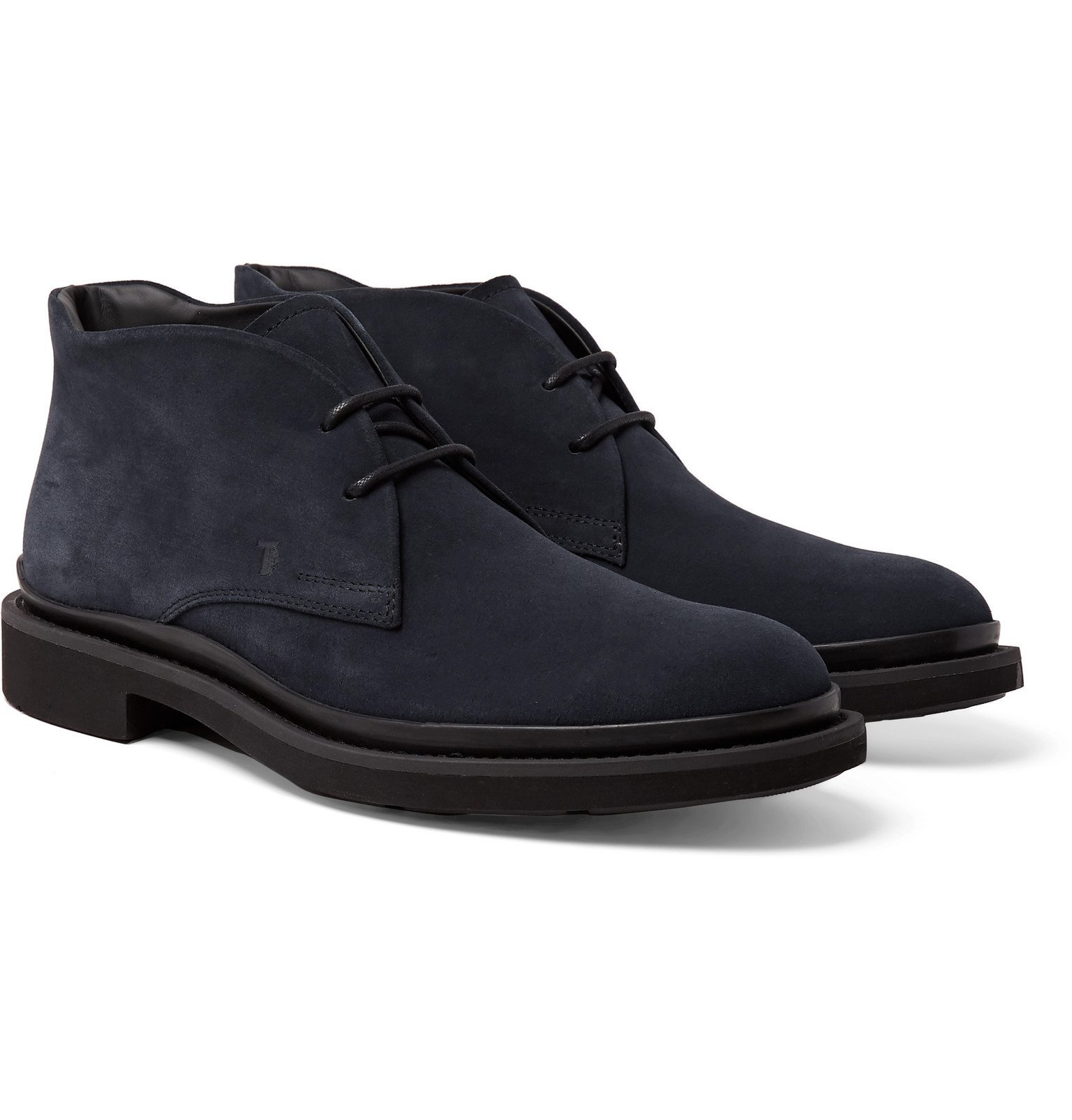 Photo: Tod's - Suede Chukka Boots - Blue