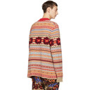 Sacai Multicolor Wool Floral Sweater