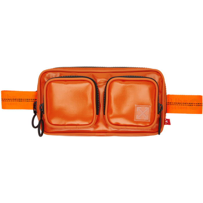 Photo: Off-White Orange Hip Belt Pouch