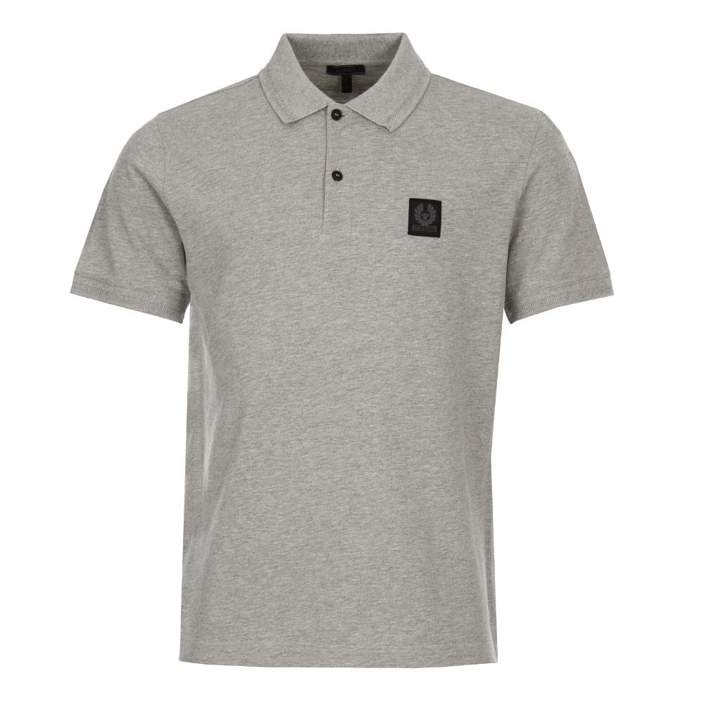 Photo: Stannett Polo Shirt - Grey Melange