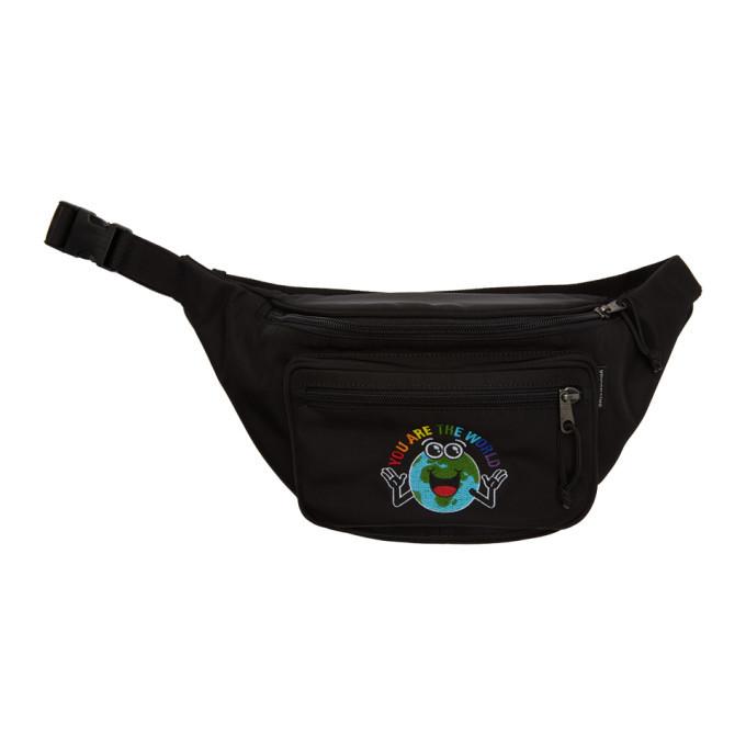 Photo: Balenciaga Black You Are The World Explorer Belt Pouch