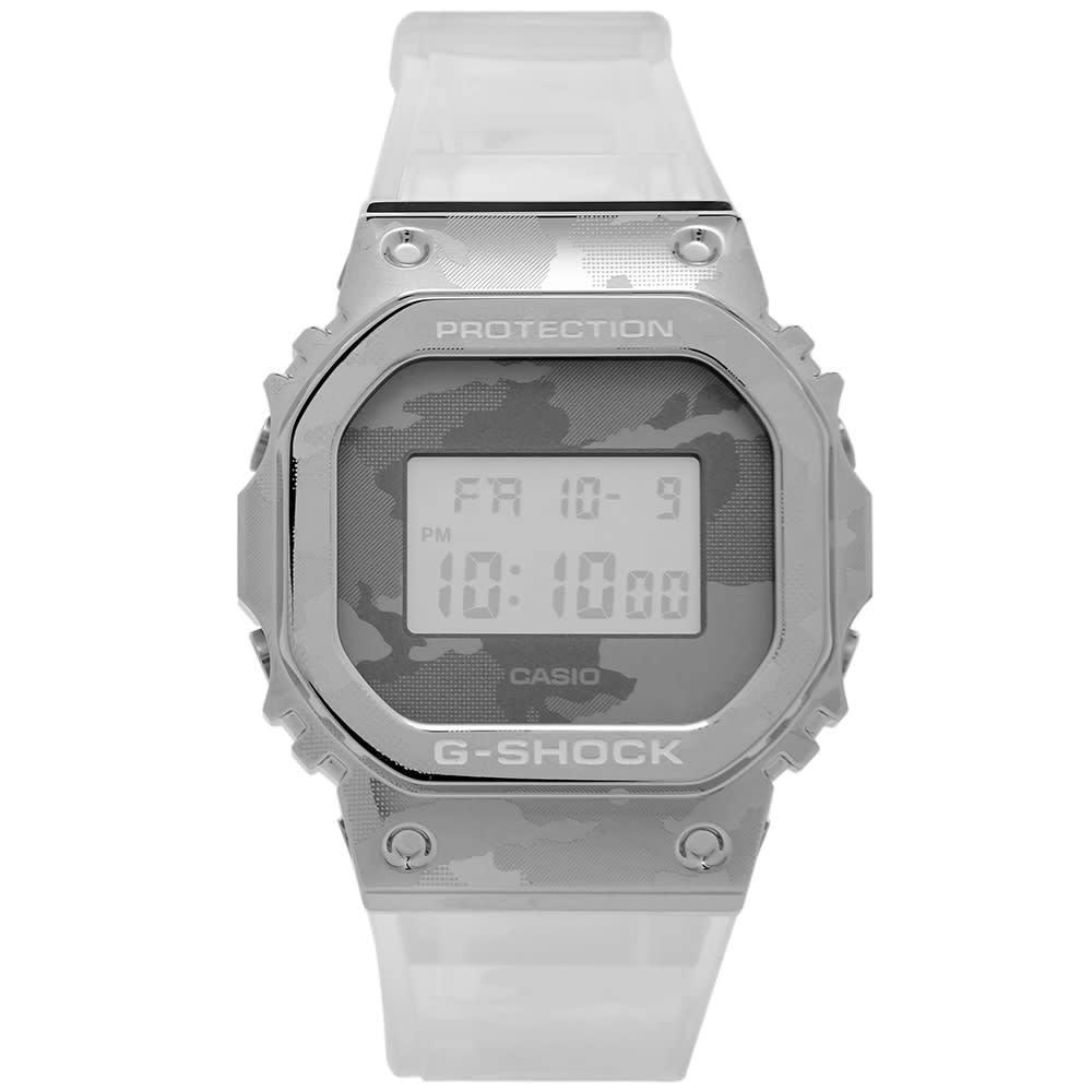 Photo: Casio G-Shock GM-5600 Transparent Watch