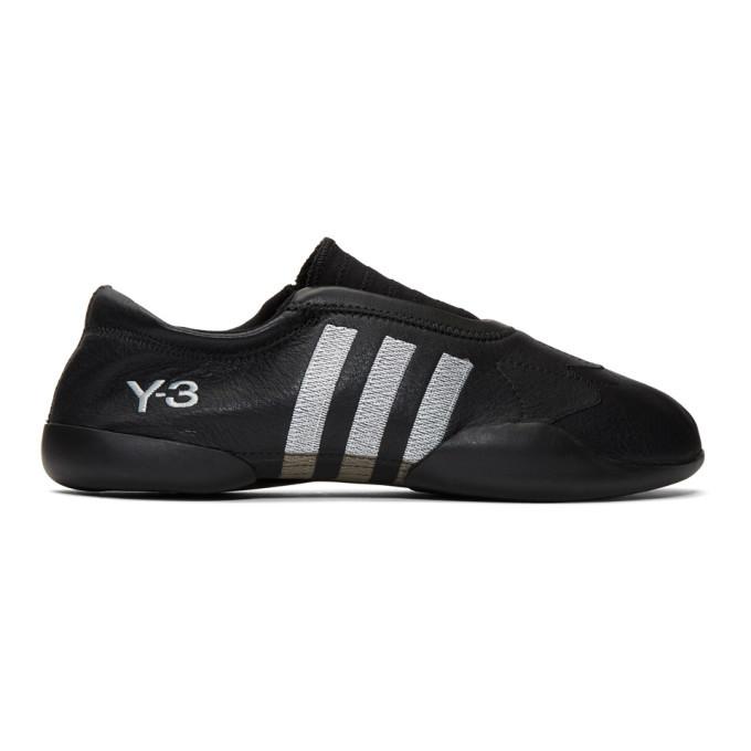 Photo: Y-3 Black Taekwondo Sneakers