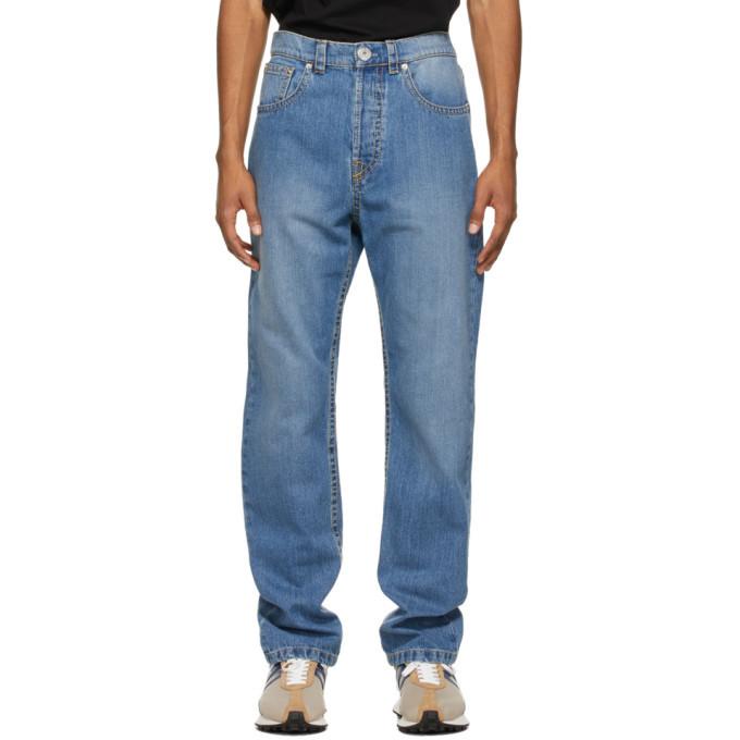 Photo: Lanvin Blue 5 Pocket Jeans