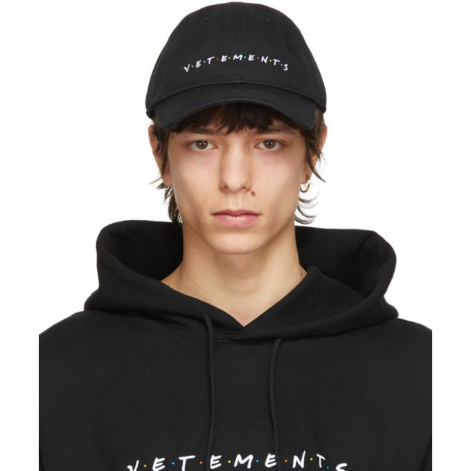 Photo: VETEMENTS Black Friendly Logo Cap