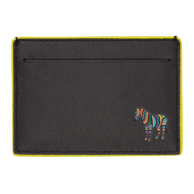 Photo: PS by Paul Smith Black Zebra Card Holder