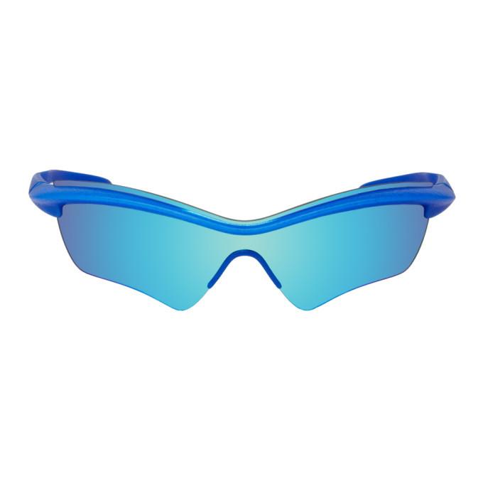 Photo: Maison Margiela Blue Mykita Edition MMECHO005 Sunglasses