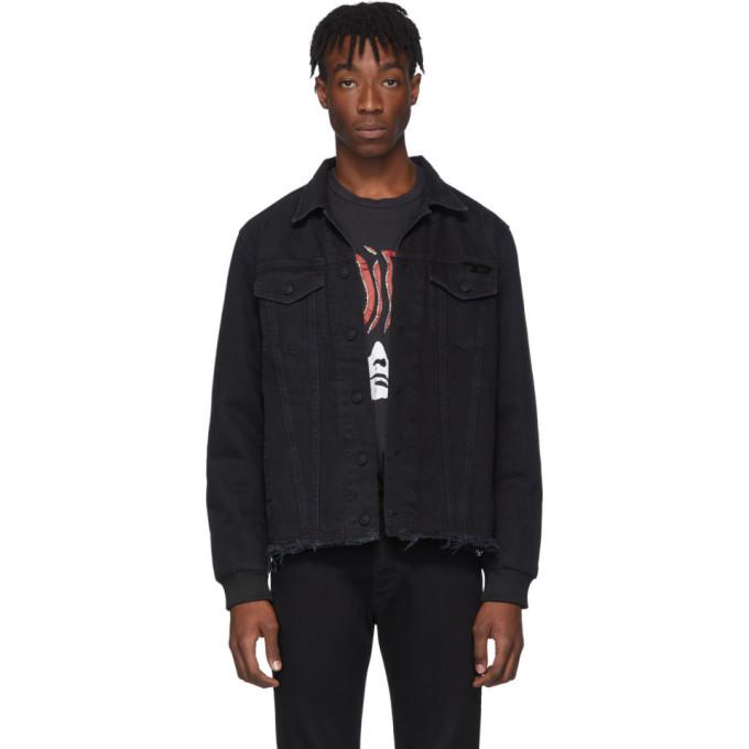 Photo: Diesel Black Denim D-Grey Blit Jacket