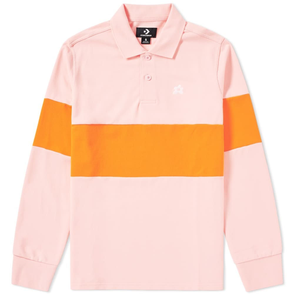 Photo: Converse x Golf Le Fleur Long Sleeve Polo Pink