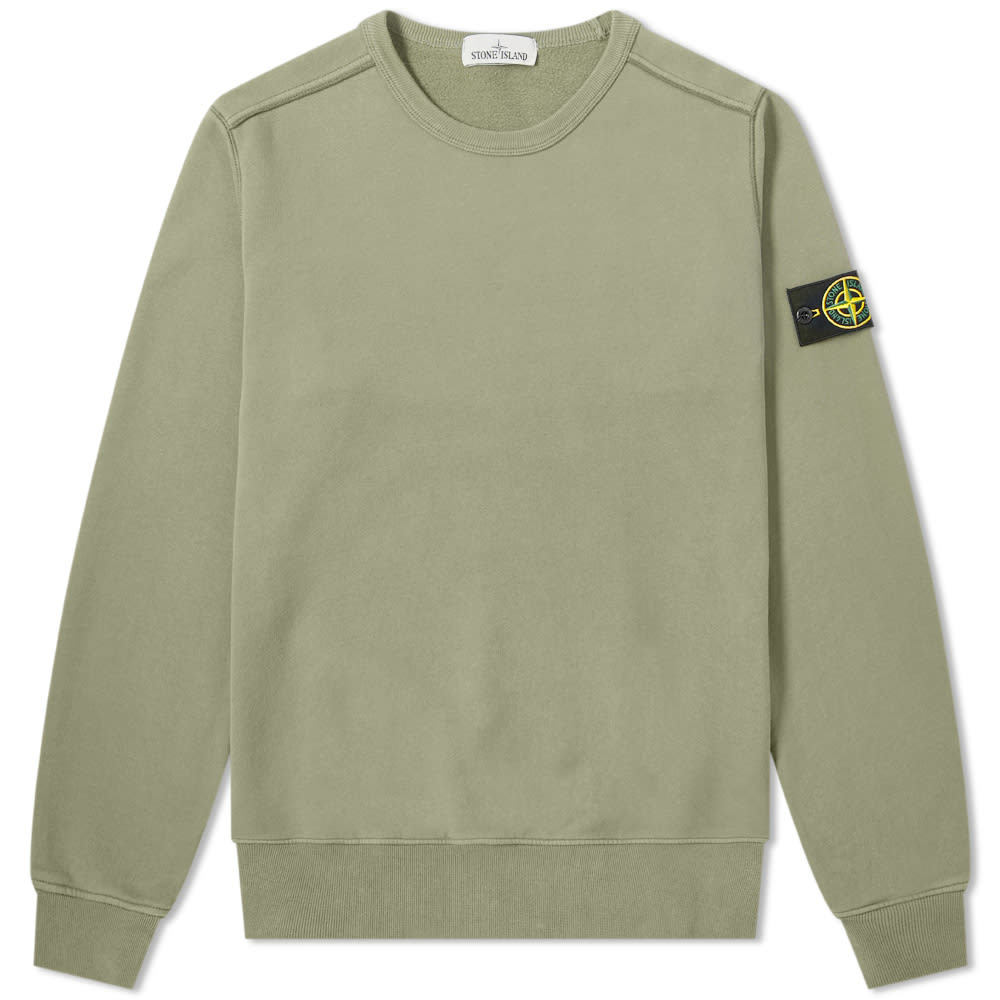 Photo: Stone Island Garment Dyed Crew Sweat Fango