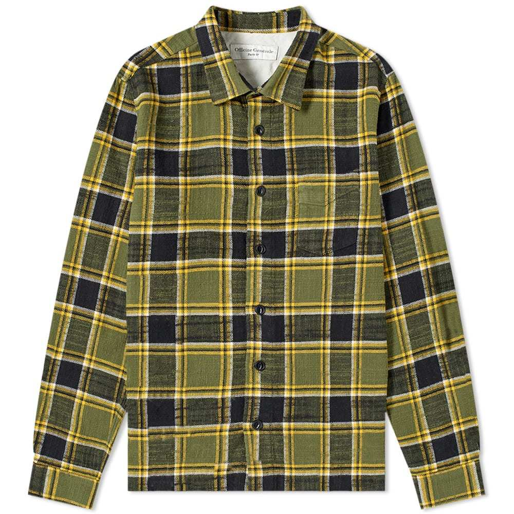 Officine Generale Japanese Check Sol Overshirt