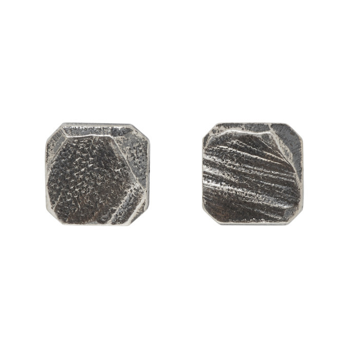 Photo: Chin Teo Silver Square Earrings