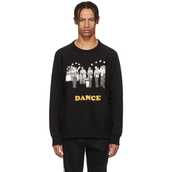 Photo: Wacko Maria Black Heavyweight Dance Sweatshirt