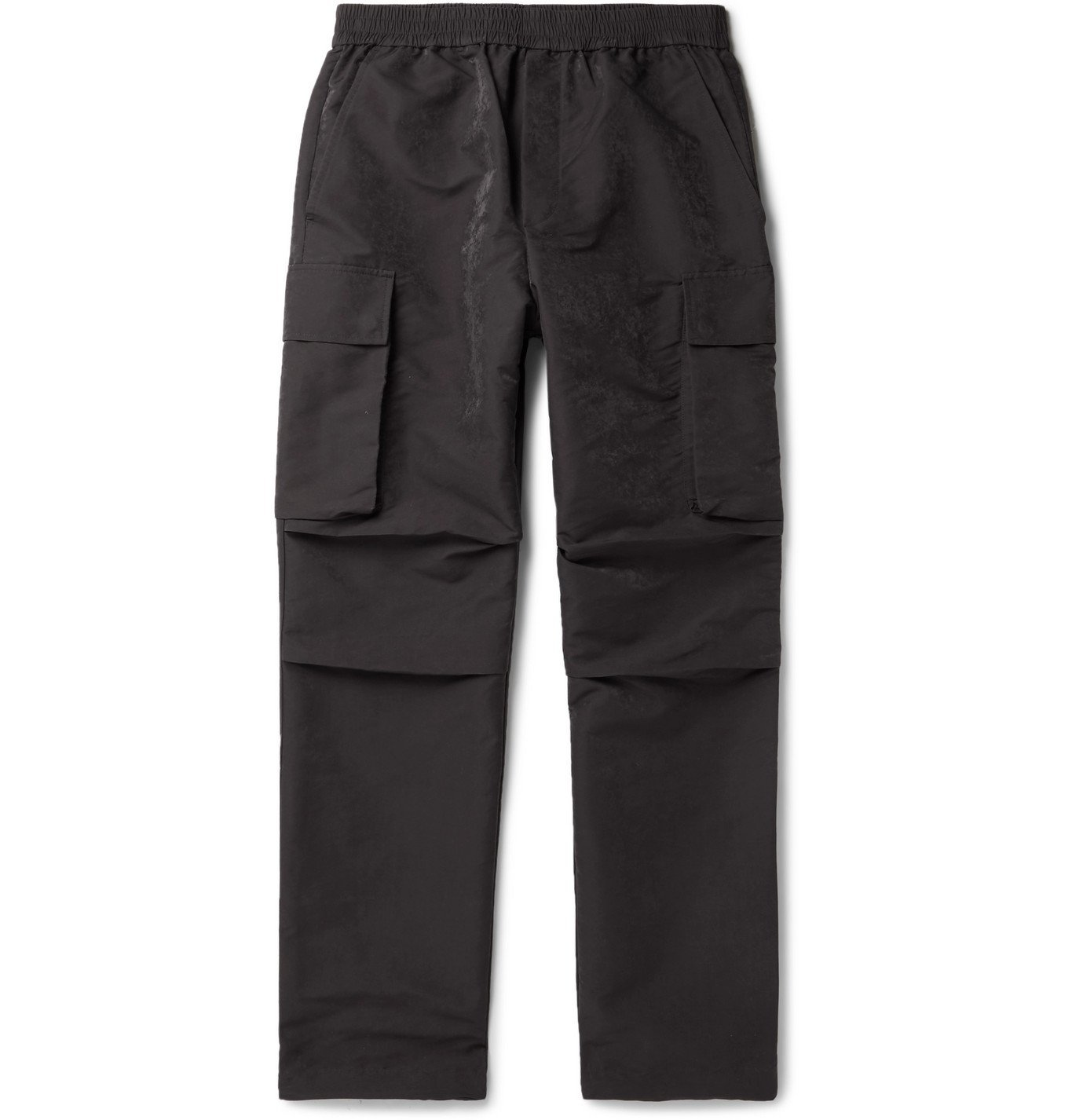 Photo: Wood Wood - Halsey Shell Cargo Trousers - Gray