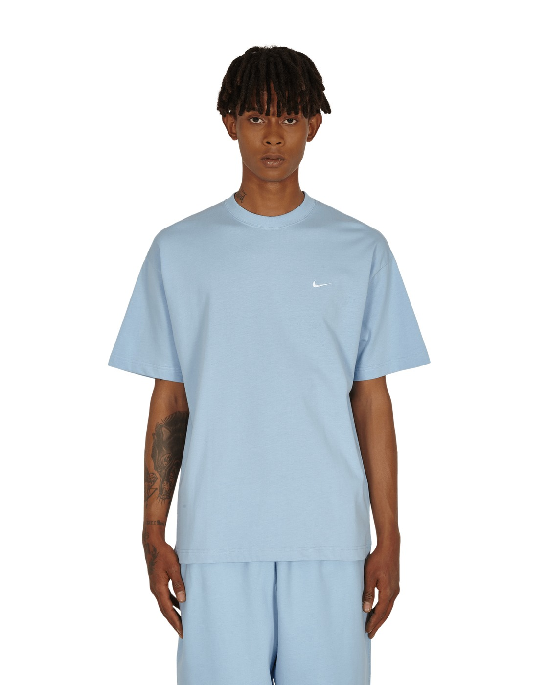 Photo: Nike Special Project Essential T Shirt Psychic Blue/White