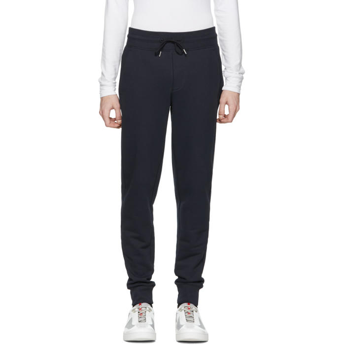 Moncler Navy Lounge Pants Moncler Grenoble