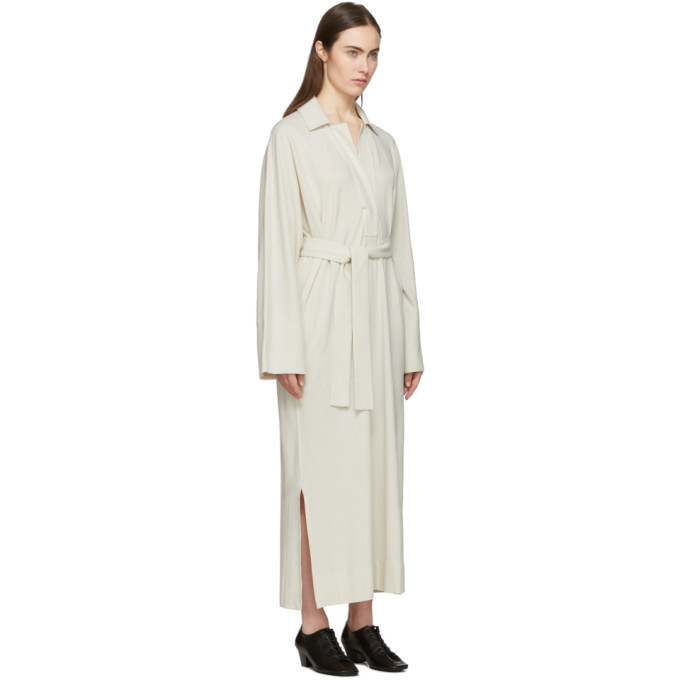 Lemaire Off-White Polo Shirt Dress