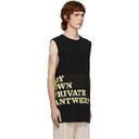 Raf Simons Black My Own Private Antwerp T-Shirt