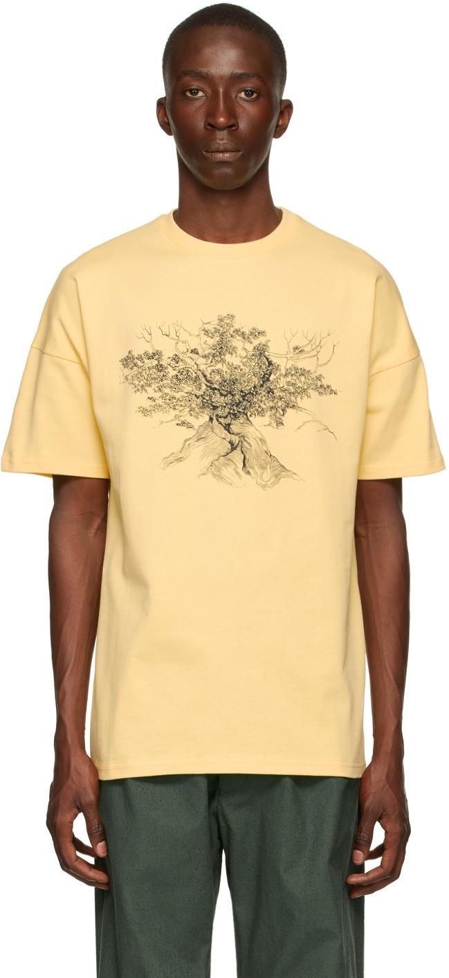 Photo: Labrum Beige 'The Cotton Tree' T-Shirt