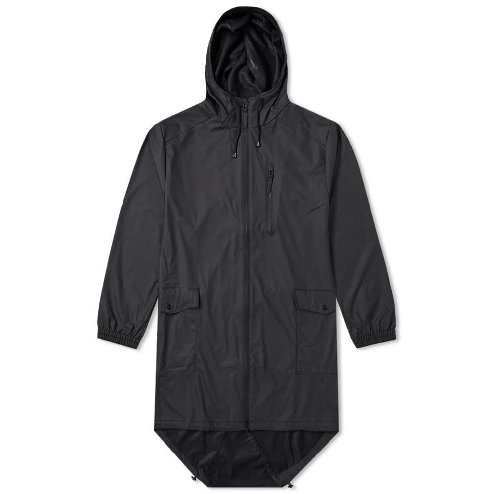 Photo: Rains Parka Coat Black