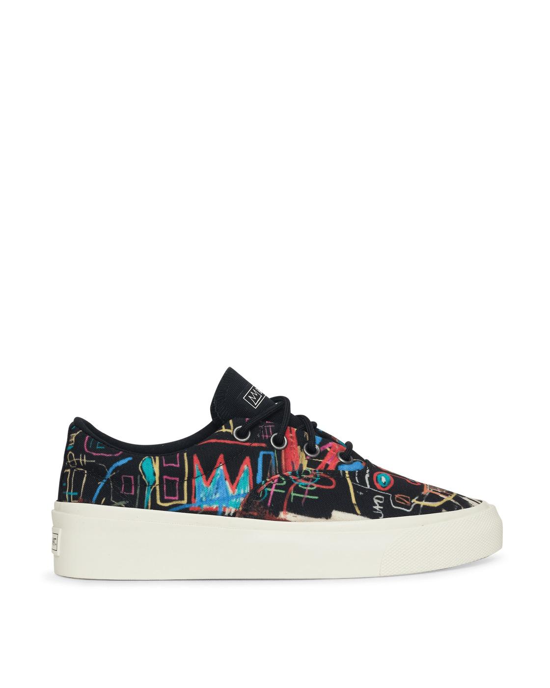Photo: Converse Basquiat Skidgrip Sneakers Black/Multi