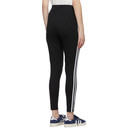 adidas Originals Black and White Adicolor 3-Stripes Leggings