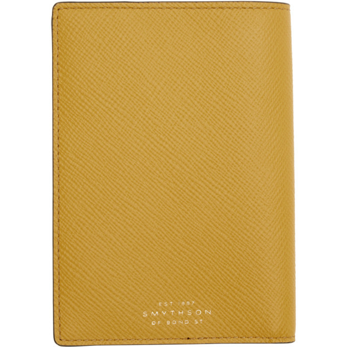 Photo: Smythson Yellow Panama Passport Holder