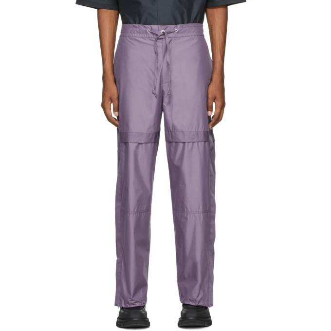 Photo: 3.1 Phillip Lim Purple Chintz Poplin Jogger Lounge Pants