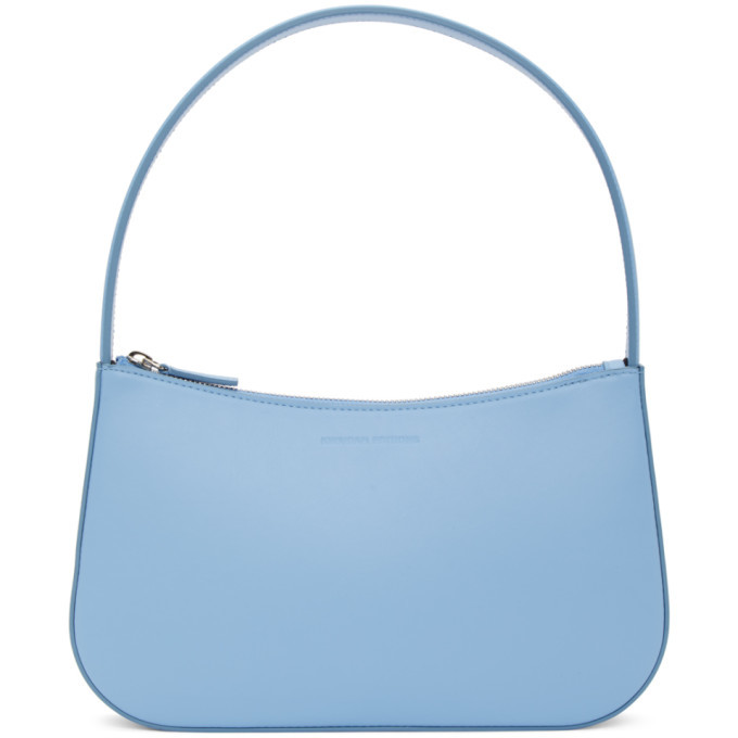 Photo: Kwaidan Editions Blue Grainy Faux Leather Lady Bag