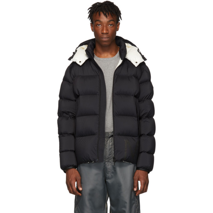 Photo: Moncler Black Down Wilms Jacket