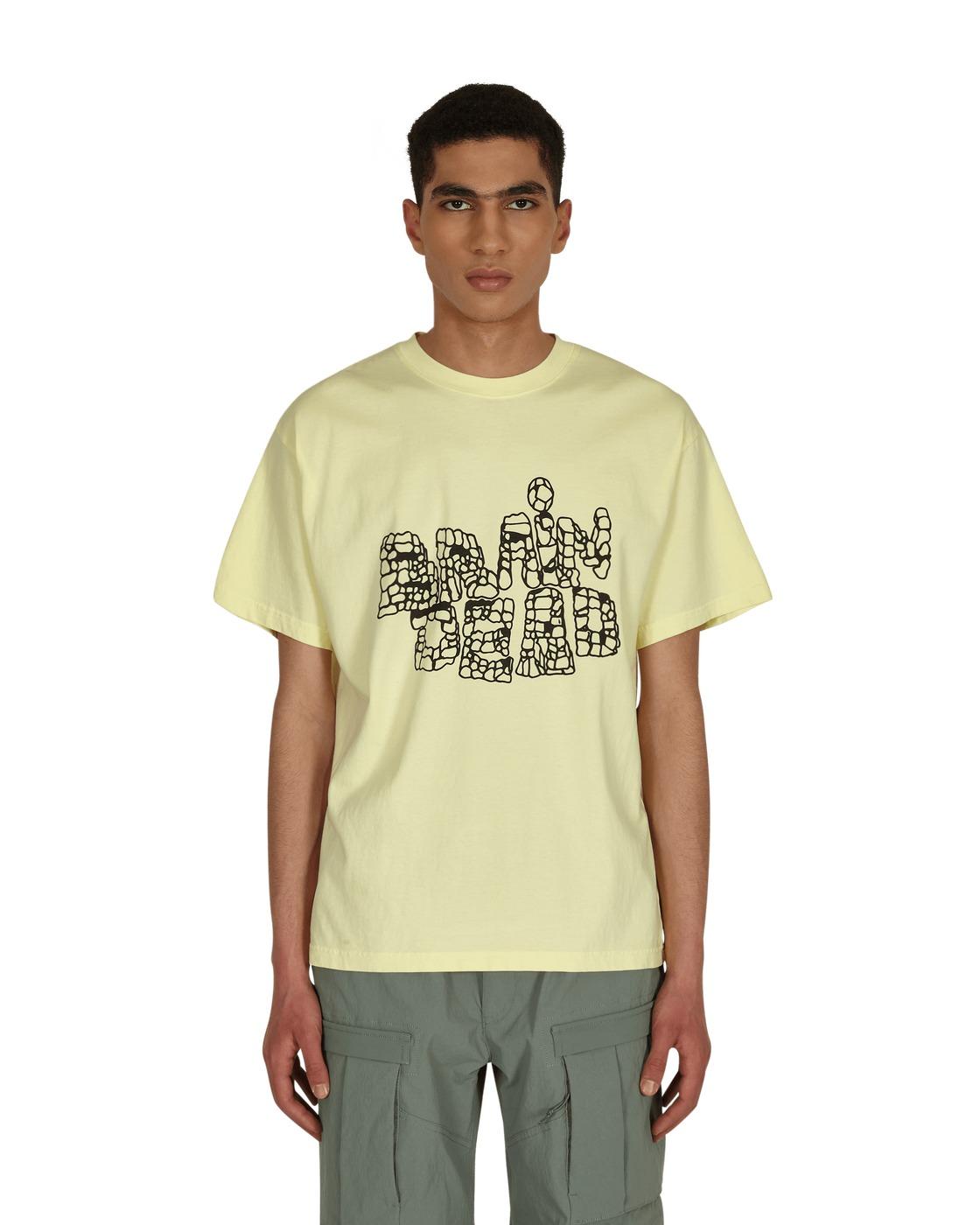 Photo: Brain Dead Punch Up T Shirt Lemon