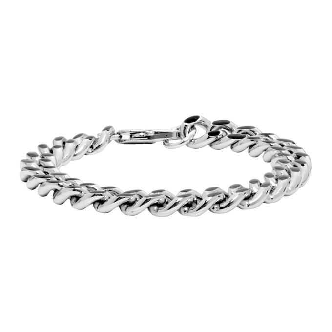 Photo: A.P.C. Silver and Black Marius Bracelet