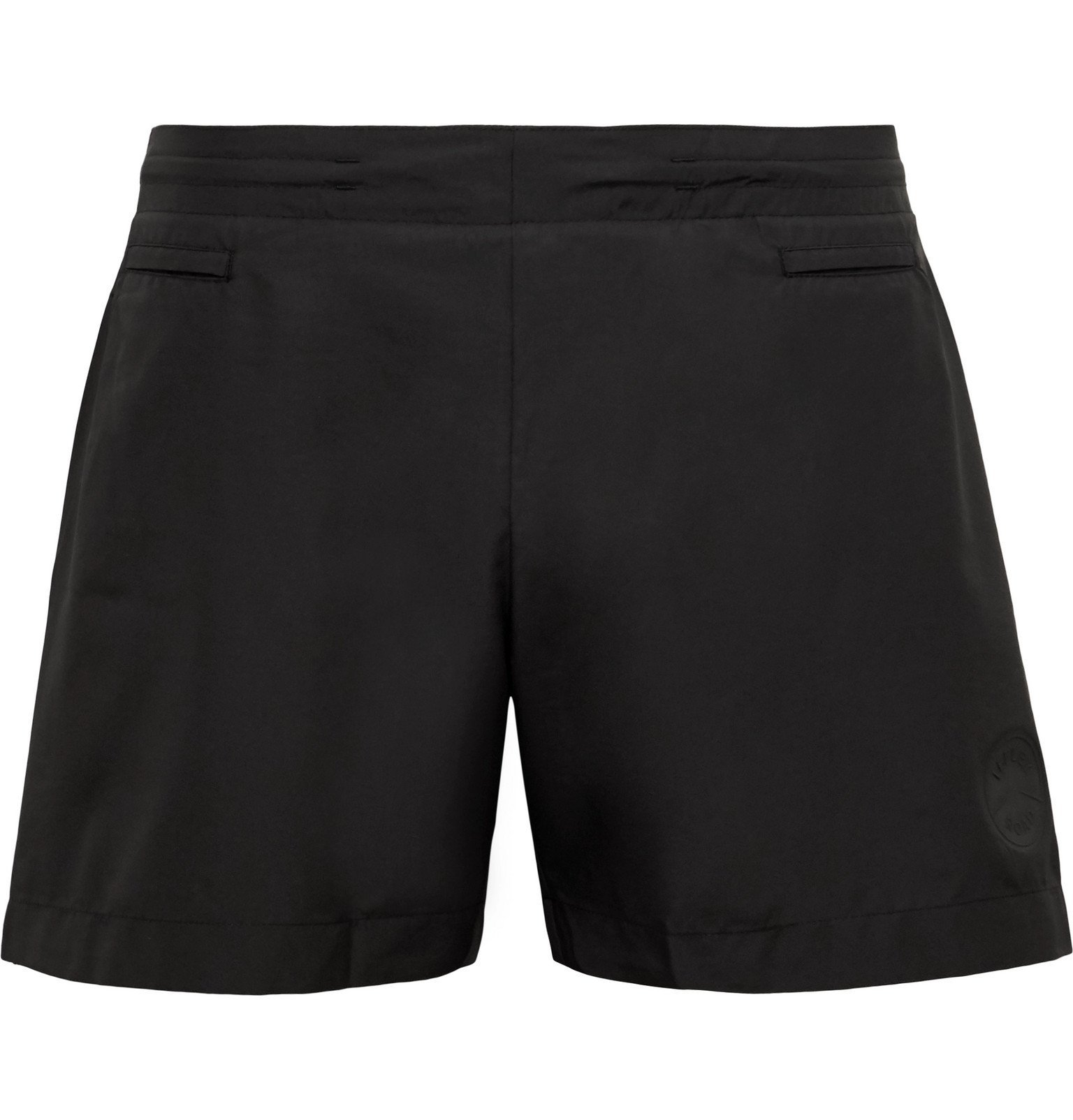 Photo: Iffley Road - Pembroke Slim-Fit Shell Running Shorts - Black