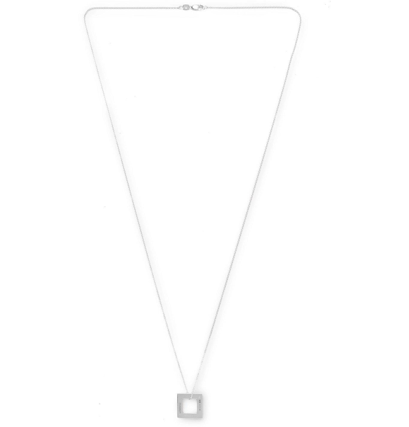 Photo: Le Gramme - Le 2.9 Sterling Silver Necklace - Silver