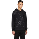 Dunhill Black Longtail Hoodie
