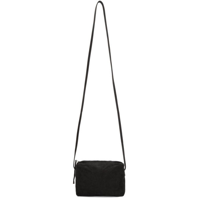Photo: Boris Bidjan Saberi Black Suede Crossbody Bag
