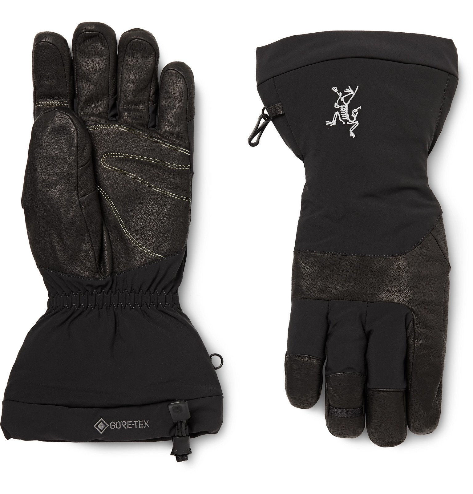 Photo: Arc'teryx - Fission SV GORE-TEX and Leather Gloves - Black
