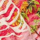 KAPITAL - Kamehameha Camp-Collar Printed Woven Shirt - Red