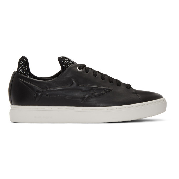 Photo: PS by Paul Smith Black Sonix Shark Sneakers